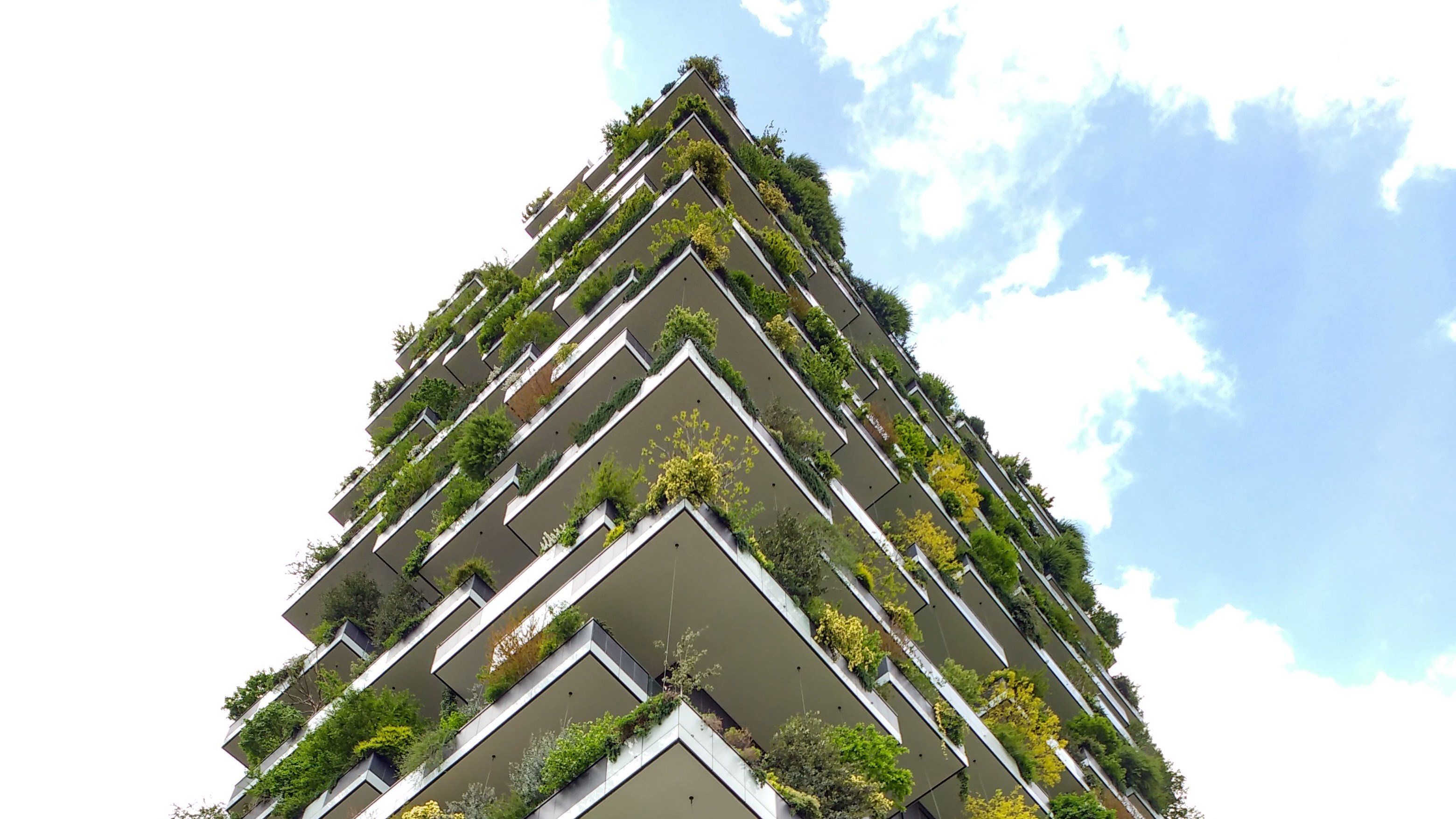 A picture of the Bosco Verticale in Milan